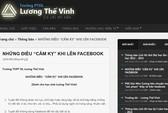 Trường đầu tiên ở Việt Nam cấm HS nói xấu trên Facebook