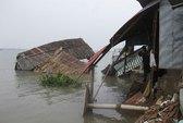 TP HCM: 7 căn nhà tuột xuống sông trong đêm