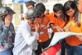 Sinh viên thành phố dốc sức vì sĩ tử