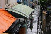 Nhiều học sinh nghỉ học vì nước ngập