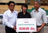 136 triệu đồng giúp đỡ Hoàng Hà Giang