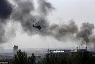 Quân đội Ukraine không kích Donetsk