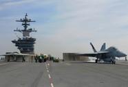 Mỹ kết hợp UAV X-47B và chiến đấu cơ trên tàu sân bay
