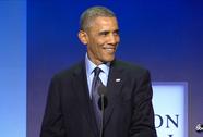 TT Obama lo chuyện sinh nở cho con gái ông Clinton