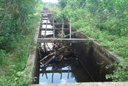 Đi học về, một học sinh rơi xuống kênh chết đuối
