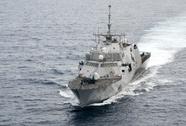 Tàu chiến Mỹ tuần tra biển Đông