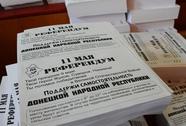 Đang trưng cầu dân ý ở miền đông Ukraine
