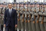 Ông Obama công du châu Âu, tăng sức ép lên Nga