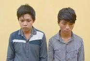 Bắt 2 thanh niên cướp thùng tiền cưới