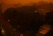 Iran: Bão cát tử thần biến ngày thành đêm, hàng chục người thương vong