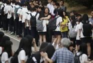 Vụ chìm tàu Sewol: Học sinh sống sót trở lại trường trong nước mắt