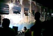Cháy tàu hỏa ở Ấn Độ, 9 người chết