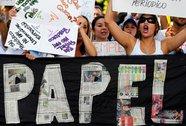 Báo Venezuela giảm số trang vì thiếu giấy in