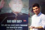 Anh: Tiệm tóc London gặp vạ vì lợi dụng kiểu tóc Kim Jong-un