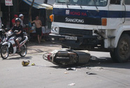 Nữ nhân viên ngân hàng tử nạn trên đường đi làm