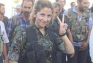 IS cắt đầu nữ chiến binh xinh đẹp người Kurd