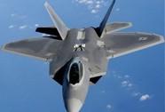 Mỹ không kích IS ở Syria: Lần đầu chiến đấu cơ tàng hình F-22 xung trận