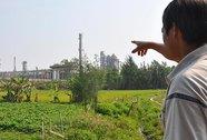 """Dân """"tố"""" Nhà máy Lọc dầu Dung Quất gây ô nhiễm"""