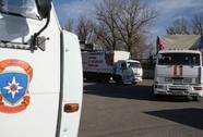 """106 xe tải Nga đến miền Đông Ukraine """"trái phép"""""""