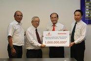 Công ty CP Đồng Tâm ủng hộ ngư dân 1 tỉ đồng