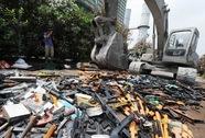 Trung Quốc thu giữ 10.000 khẩu súng bất hợp pháp