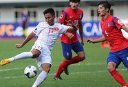 U19 Việt Nam - U19 Hàn Quốc 0-6: Vỡ trận ở hiệp 2