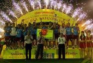Đội Quahaco vô địch Cúp Bia Sài Gòn 2014