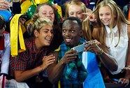 """Tia chớp"" Usain Bolt thắp sáng Glasgow"