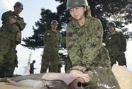 Phụ nữ Nhật muốn thành lính dự bị