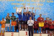 Hội thao Thanh tra ngành Xây dựng TP HCM 2014: Tân Bình vô địch bóng đá mini