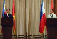 Việt Nam - Philippines: Hợp tác để bảo vệ nhau