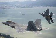 Mỹ đưa chiến đấu cơ F-22 đến Đông Nam Á