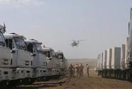 Kiev ngăn hàng cứu trợ của Nga lưu thông