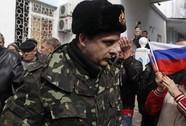 Máu đổ ở Crimea