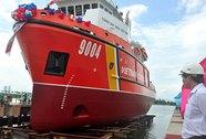 Hạ thủy tàu cảnh sát biển 9004 hiện đại