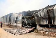 Cháy rụi xưởng xay bột gỗ