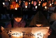 Những đám tang đắng lòng trong vụ chìm tàu Sewol