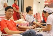 Hơn 500 người tham gia hiến máu nhân đạo