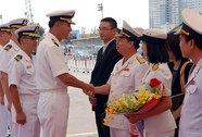 Tàu Hải quân Hàn Quốc thăm TP HCM