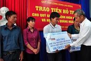 Hỗ trợ ngư dân và bệnh nhân nghèo Quảng Ngãi