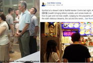 Thủ tướng Singapore xếp hàng 30 phút mua cánh gà