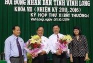 Họp bất thường, Vĩnh Long có chủ tịch tỉnh mới
