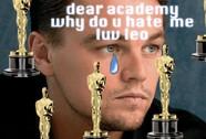 """Fan"" chế ảnh Leonardo DiCaprio vuột mất Oscar"