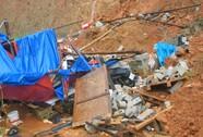 Vụ sạt lở đất 6 người chết: Không biết có người ở trong lán