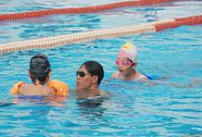 Học bơi... trên giấy
