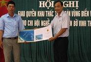 Cấp giấy phép khai thác thủy sản cho ngư dân
