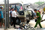 Tai nạn giao thông dồn dập