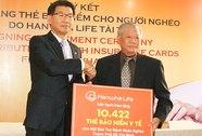 Tặng 10.422 bảo hiểm cho người nghèo