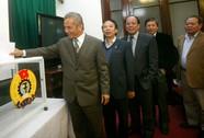 Lấy phiếu tín nhiệm lãnh đạo Tổng LĐLĐ Việt Nam