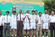 Trường THCS-THPT Hồng Đức đoạt cúp vô địch